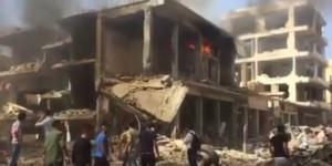 Guarda la versione ingrandita di YOUTUBE Siria: attentato Isis a Qamishli. Decine di morti
