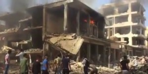 YOUTUBE Siria: attentato Isis a Qamishli. Decine di morti