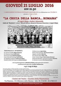 """""""Cricca della Banca Romana"""", intervista a Di Maio, avvocato e Francione, giudice, autori di teatro processuale"""