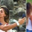 Belen Rodriguez e Marco Borriello: beccati! Ecco il bacio FOTO