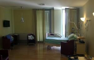 Berlusconi, FOTO stanza San Raffaele