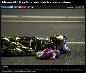 Attentato Nizza: 3-4 bambini lottano tra la vita e la morte