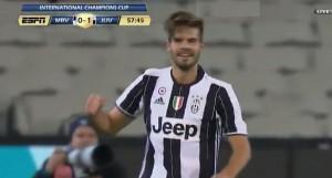 VIDEO YOUTUBE Blanco Moreno, gol da 50 metri in Juve-Melbourne