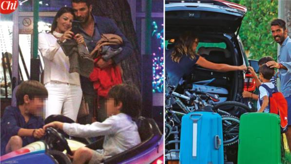 Alena Seredova porta i figli da Gigi Buffon. E Ilaria D'Amico...