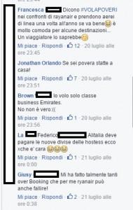 """Guarda la versione ingrandita di Cannavacciuolo e Bastianich sul volo Ryanair. Insulti su Fb: """"Pezzenti"""""""