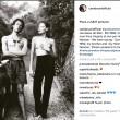 Carla Bruni su Instagram con sue foto nuda firmate Helmut Newton