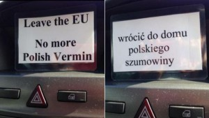 Gran Bretagna: ad Huntingdon hanno paura dei polacchi. E ora...