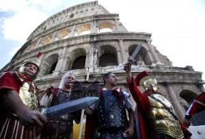 Roma, centurioni molestano le turiste: 5 euro per una foto (foto di repertorio)