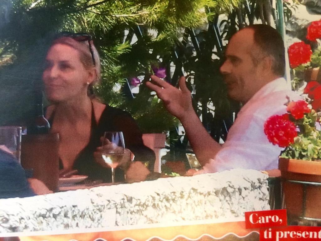 """Antonella Clerici e Vittorio Garrone insieme a Portofino FOTO """"Chi"""" 6"""