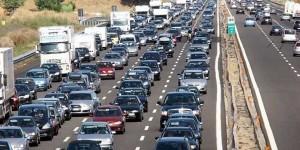 Traffico, caldo e temporali: week end di esodo da bollino rosso