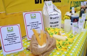 Grano, latte, olio: crollo prezzi campagna, aumenti allo scaffale