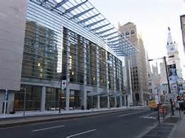 L'edificio della convention democratica
