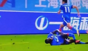 VIDEO YOUTUBE Demba Ba, infortunio choc: rottura della tibia