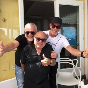 Danny De Vito e Aurelio De Laurentiis all'Ischia Global Film&Music Fest FOTO