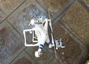 Guarda la versione ingrandita di Venezia, drone precipita vicino Piazza San Marco e sfiora comitiva turisti
