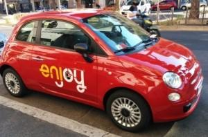 Enjoy, troppi incidenti: in arrivo scatole nere su auto a noleggio