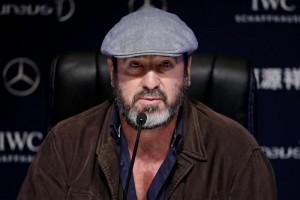 Eric Cantona (foto Ansa)
