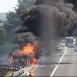 A4, camion in fiamme: chiusa autostrada tra Udine e Venezia