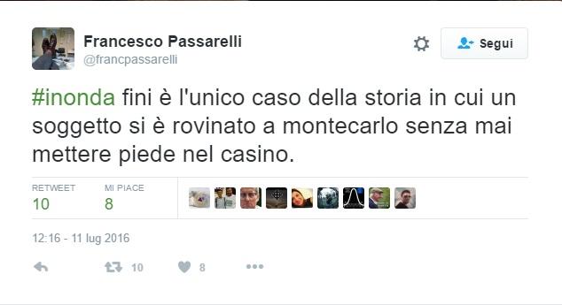 """Gianfranco Fini ospite a In Onda, Twitter si scatena: """"Rovinato da..."""""""