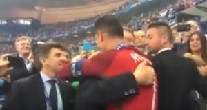 YOUTUBE: Cristiano Ronaldo e l'abbraccio con Alex Ferguson