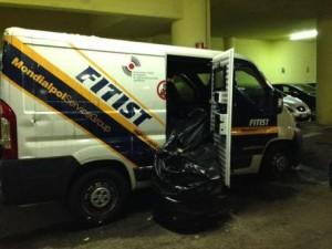 Badia al Pino, vigilantes scompare col furgone portavalori: c'erano 4mln di oro
