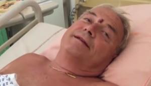 """VIDEO Nizza, nonno Gaetano Moscato: """"Io qui grazie a mio nipote"""""""