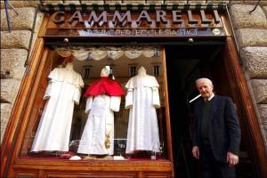 Annibale Gammarelli è morto: addio al sarto dei Papi