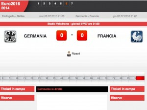 Germania-Francia: diretta live semifinale Euro 2016 su Blitz. Formazioni