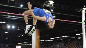 Gianmarco Tamberi oro salto in alto a Europei di Amsterdam