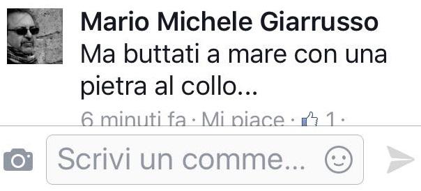 """Giarrusso (M5s) a giornalista Rai: """"Buttati a mare con una pietra al collo""""05"""