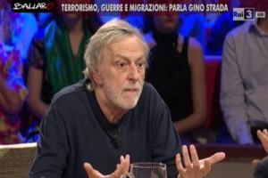 """Gino Strada: """"I terroristi non sono necessariamente sfigati"""""""