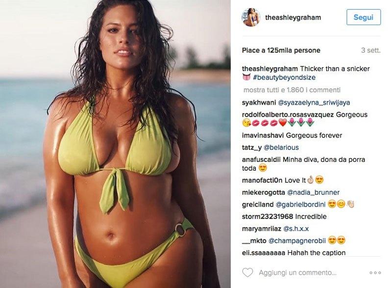 Ashley Graham, la modella curvy è dimagrita: rivolta sui social FOTO5
