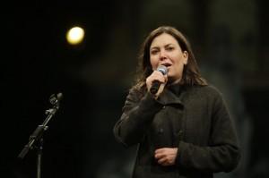 """Sabina Guzzanti: vigili Olbia bloccano film """"La Trattativa"""""""
