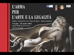 L'Arma per l'arte e la legalità, in mostra opere recuperate da carabinieri
