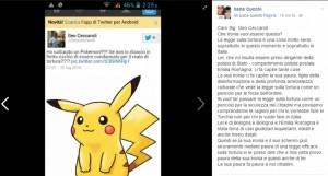 Guarda la versione ingrandita di Pokemon e reato di tortura. Tweet poliziotto indigna Ilaria Cucchi