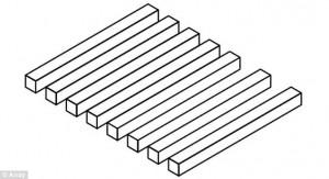 Guarda la versione ingrandita di Quante barre vedi, sette o otto? La nuova illusione ottica