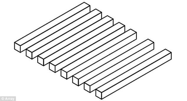 Quante barre vedi, sette o otto? La nuova illusione ottica
