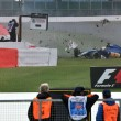 YOUTUBE Marcus Ericsson, incidente prove Gran Premio Silverstone2