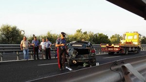 Giovinazzo, auto contro tir su statale 16: morto ragazzo 23 anni