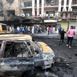 Guarda la versione ingrandita di Isis colpisce Baghdad in Iraq: due attentati e oltre 142 morti
