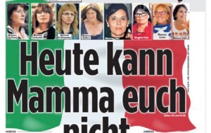 Guarda la versione ingrandita di Italia-Germania, la stampa tedesca: