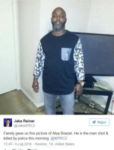 Un altro nero ucciso dalla polizia a Houston: