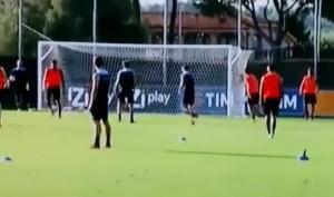 VIDEO YOUTUBE Keita-Lulic, rissa in allenamento per entrata dura