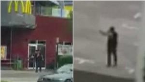 YOUTUBE Monaco di Baviera: il killer spara dal tetto