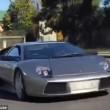 Lamborghini trasporta capre col rimorchio