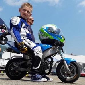 Guarda la versione ingrandita di Marco Scaravelli morto a 6 anni: caduto da minimoto durante gara
