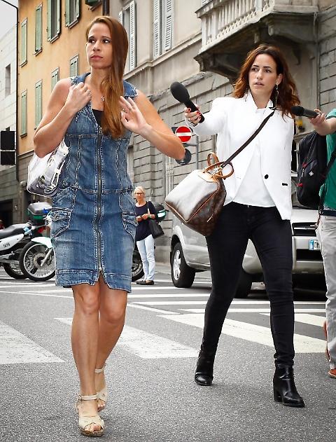 Marita Comi: alla sentenza Bossetti si presenta vestita così