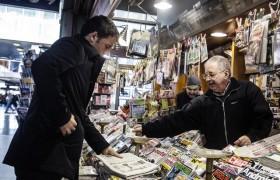 Vendite giornali maggio 2016, un altro crollo <br /> Repubblica e Corriere giù verso quota 200 mila