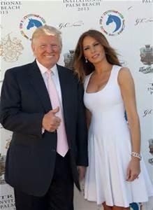 Melania Trump col marito