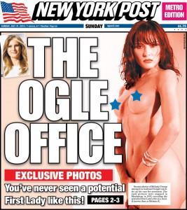 Melania Trump senza veli: ritratto di futura First Lady come non si è mai vista FOTO